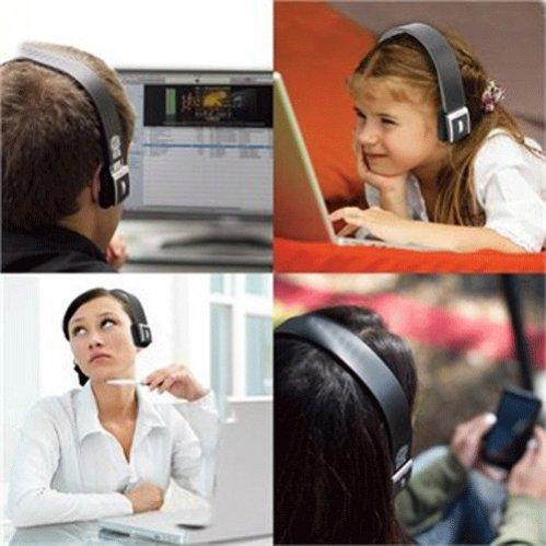 "Selna Over the Head Bluetooth Wireless Stereo Headset Handsfree Headphone with Microphone for HP Slate 2 - Lenovo Miix 2 - Lenovo Tab A10 - Lenovo Tab A7-50 - Motorola Media Edition XOOM 2 - NABI 2 - NABI Jr 5 - NABI XD 10.1"""