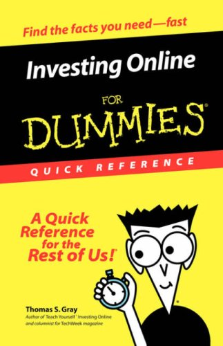Investing Online For Dummies Quick Reference PDF