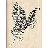 Inkadinkado Butterfly Wood Stamp