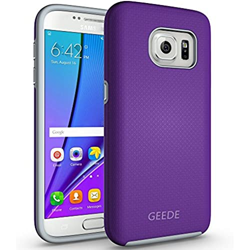 Galaxy S7 Case, GEEDE [Ultra Fit Armor] Shock Absorbing Case Best Heavy Duty Dual Layer Tough Cover for Samsung Galaxy S7(Purple) Sales