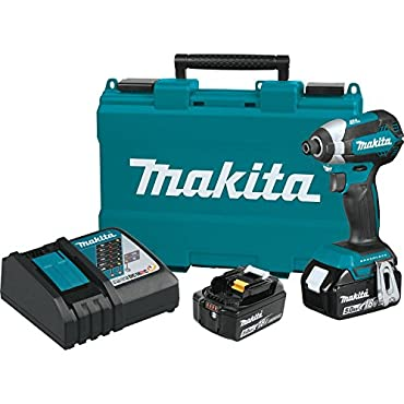Makita XDT13T 18V LXT Lithium-Ion Brushless Cordless Impact Driver Kit (5.0Ah)