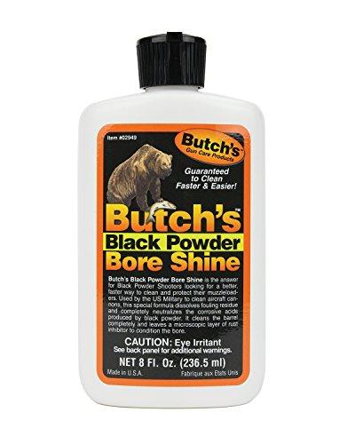 Butch's 02949 Bore Shine Black Powder (8 oz) (Best Black Powder Cleaner)