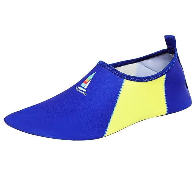 Zapato De Agua para Buceo Snorkel Surf Piscina Playa Hombre ...