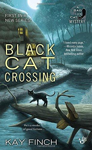book cover of Black Cat Crossing