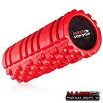 Foam Roller for Sport Massage Therapy - Best Massage Tool for Deep Tissue Massage, Myofascial Release, Muscle Pain andStiffness Relief - with *Free* Ebook Instructions