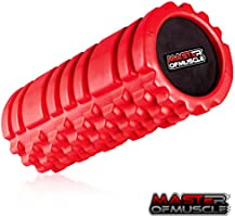 Foam Roller for Sport Massage Therapy (13 inch) - Best Massage Tool for Deep Tissue Massage, Myofascial Release, Muscle Pain and Stiffness Relief - with *Free* Ebook Instructions