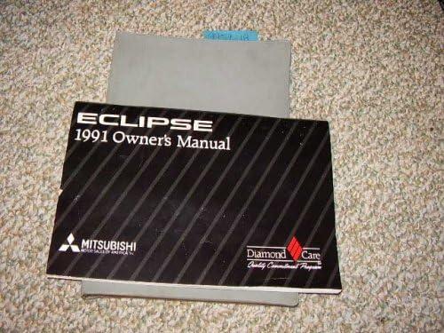 1991 mitsubishi eclipse owners manual mitsubishi amazon com books rh amazon com 1996 Mitsubishi Eclipse 1990 Mitsubishi Eclipse