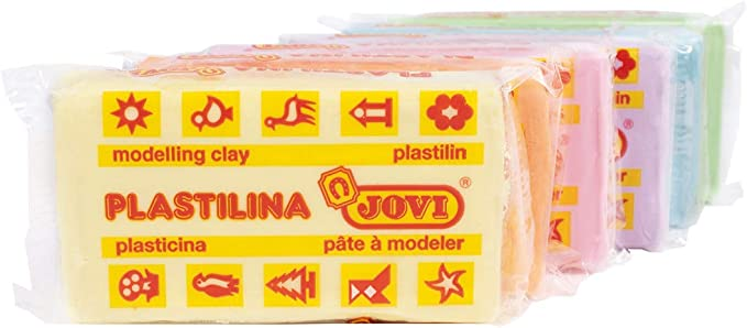 Jovi plastilina, Multcolor_Pastel, 250 x 157 x 44: Amazon.es: Hogar