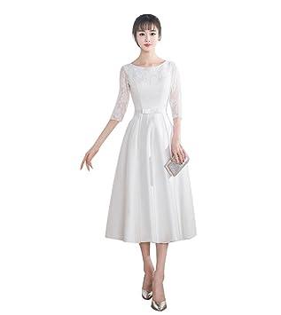 94e381895c37c 袖あり 可愛い ウェディングドレス 着痩せ ふんわり プリンセス イブニングドレス 気質 花嫁ドレス 結婚式 ふんわり