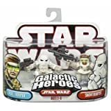 : Star Wars Galactic Heroes Figure 2 Pack: Snowtrooper & Rebel Trooper