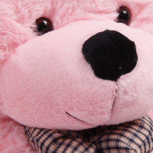 """YunNasi Pink Teddy Bear Giant Big Cute Plush 39""""(100CM)"""