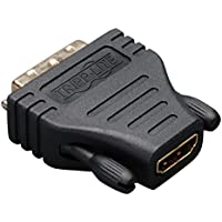 Tripp Lite HDMI to DVI Cable Adapter, DVI-D Connector, 1920x1080 (1080p), F/M (P130-000)