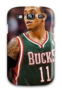 Miri Rogoff's Shop milwaukee bucks nba basketball (12) NBA Sports & Colleges colorful Samsung Galaxy S3 cases