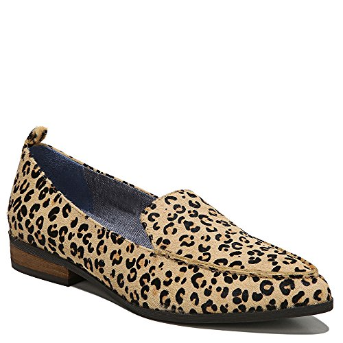 Dr. Scholl's Shoes Women's Elegant Slip-on Loafer, Leopard Pony Hair, 7 W US by Dr. Scholl's Shoes