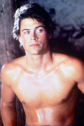 Rob Lowe 24x36 Poster bare chest pin up from Silverscreen