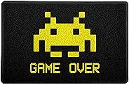 Capacho Game Over Beek Geek'S Stuff Preto 60X