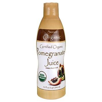 Amazon.com: Swanson Jumo de granada, certificado orgánico 32 ...