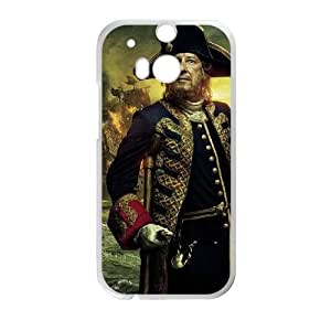 Pirates of the Caribbean HTC One M8 Plastic Cell Phone Case For Girls STY101747