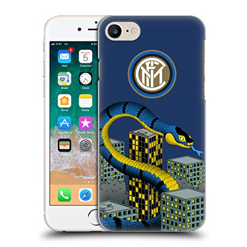 - Official Inter Milan 110th Anniversary 2 2018/19 The Big Grass Snake Hard Back Case Compatible for iPhone 7 / iPhone 8