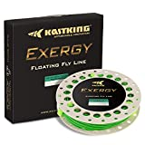 KastKing Exergy Fly Fishing Line – Weight Forward Floating Lines for Freshwater – Double Micro Loops – Laser Printing – BioSpool – Available in 5 Colors, Super Value! Review