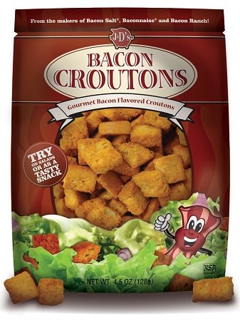 Bacon Flavored Croutons (Pack of 6)