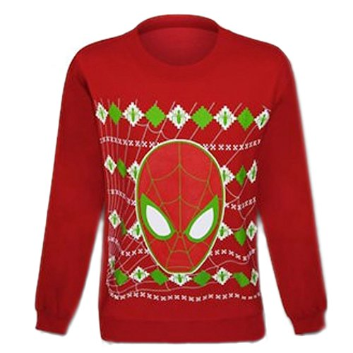 Spiderman Christmas Ugly Sweater