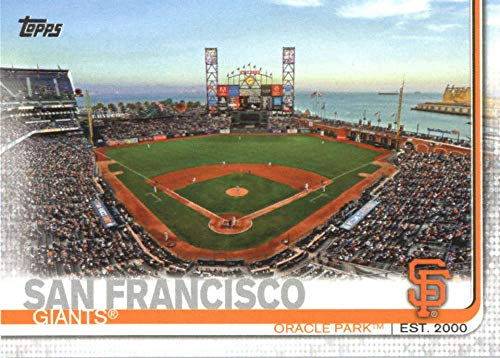 2019 TOPPS #616 ORACLE PARK GIANTS BASEBALL (Oracle Shop)