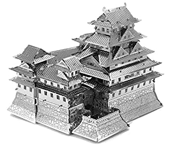 Himeji Castle Model by Metal Earth