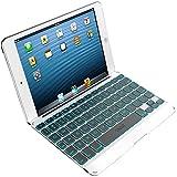ZAGG Folio Case with Backlit Bluetooth Keyboard for Apple iPad Mini-White (ZKMHFWHLIT103)