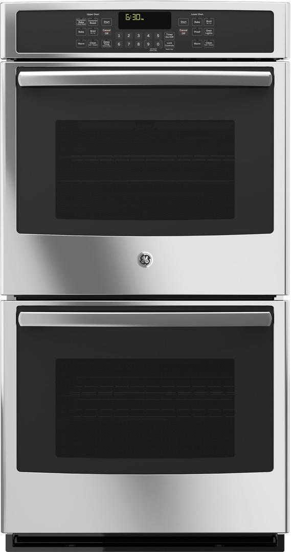 GE JK5500SFSS 27'' Built-In Double Convection Wall Oven In Stainless Steel by GE