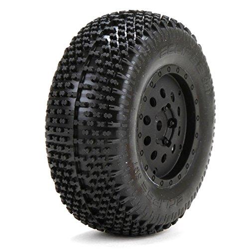 Losi Premnt Eclipse Tires/Wheels Rear (2): XXX-SCT/SCB, LOS43003