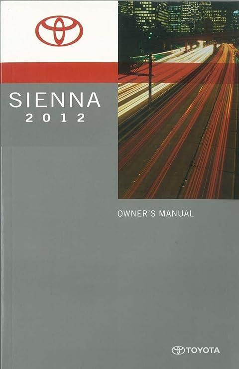 amazon com bishko automotive literature 2012 toyota sienna owners rh amazon com toyota sienna 2012 owner's manual toyota sienna 2012 owner's manual