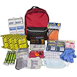 Ready America 70380 Essentials Emergency Kit 4 Person 3 Day Backpack