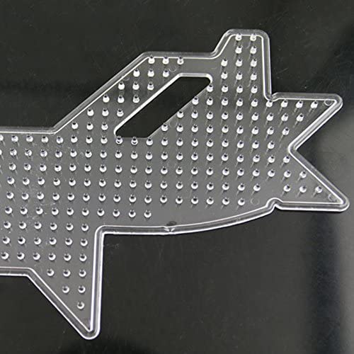 Pinzhi DIY Avión Avión Perler Perler Hama Perlas Peg Tablero Pegboard Fuse Perler: Amazon.es: Juguetes y juegos