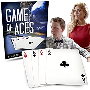 Ultimate Card Trick - Magic Makers Game of Aces With Speical Cards
