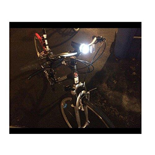 Fahrrad Licht Set Super Bright 5LED Kopflampe, 3-LED-Rücklicht, Schnelllösevorrichtung