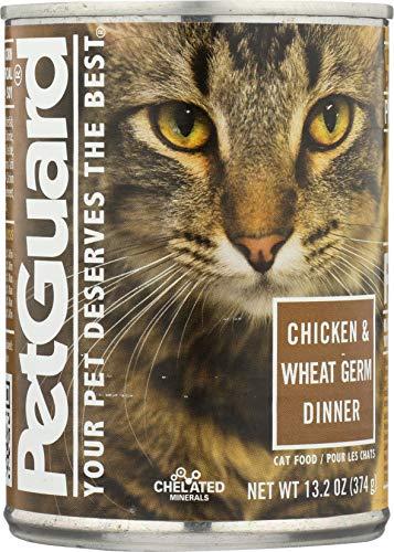Petguard Cat Food, Chicken & Wheat Germ Dinner, 13.2 Ounce (Pack Of 12)