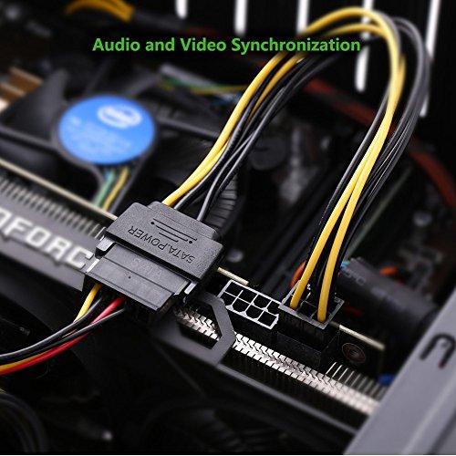 Ugreen Sata Power Cable Sata15 Pin To 6 Pin Pci Express