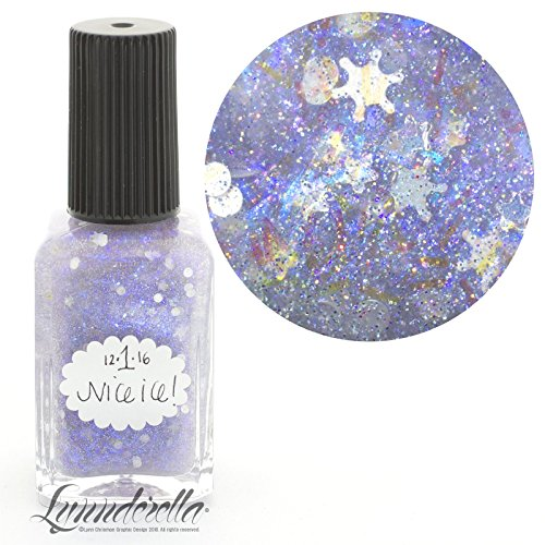 Lynnderella Limited Edition Christmas Advent Nail Polish Holographic Topper—December 1-Nice Ice! by Lynnderella