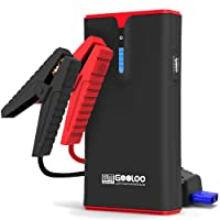Deals on Gooloo 1500A SuperSafe Car Jump Starter USB Quick Charge