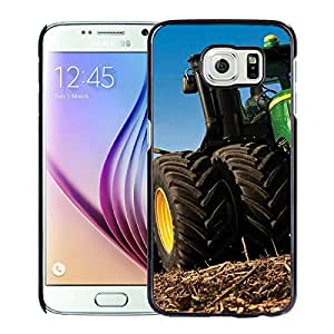 Beautiful Designed Case With john deere Black For Samsung Galaxy S6 Phone Case