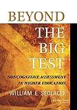 Beyond the Big Test, William E. Sedlacek, 1118660579