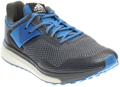 adidas Originals Men's Response 3 m Running Shoe, Grey/Ray Blue/Ray Blue Fabric, 9.5 M US