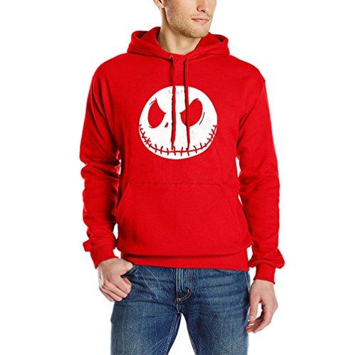 Casuales Niseng Pullover Plus Con Cashmere Rojo Sudadera Capucha Impresión B Sweatshirt Winter Blusa Hombres UUXxz