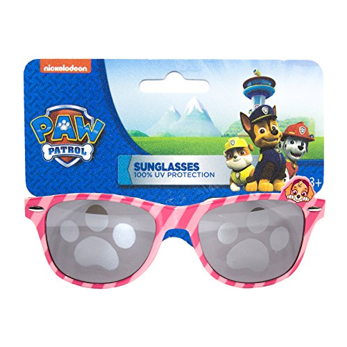 Girls Nickelodeon Paw Patrol Non Polarized Sunglasses with 100% UV Protection Wayfarer Frame Pink - Patrol Sunglasses Paw