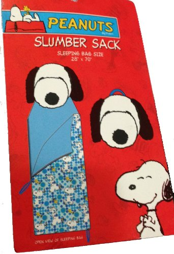 Snoopy Slumber Bag Sleeping Bag Overnight Sleepover Bed