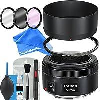 Canon EF 50mm f/1.8 STM Lens + Professional Creator Bundle