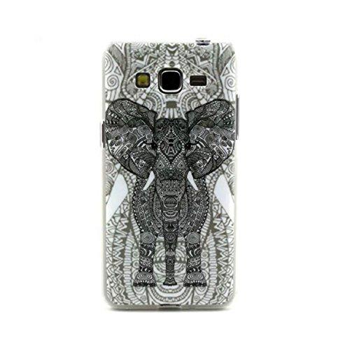 Bestpriceam (Tm) Retro Elephant Soft TPU Case Cover for Samsung Galaxy Grand Prime G530