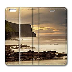 iPhone 6 Case, iPhone 6 Leather Case, Fashion Protective PU Leather Slim Flip Case [Stand Feature] Cover for New Apple iPhone 6(4.7 inch) - The Cliffs Of Moher Ireland