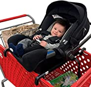 Totes Babies - Car Seat Carrier for Shopping Carts, Allows Babies, Newborns, Infants and Toddlers to Stay Snug